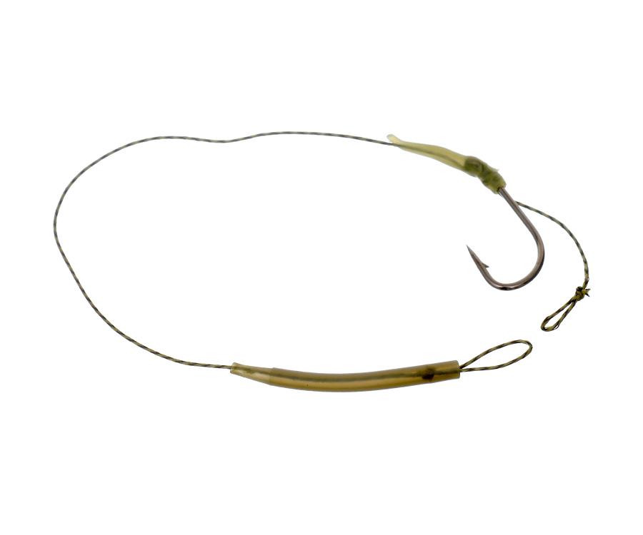 Купить Поводковый материал, Поводок с крючком c лентяйкой Carp Pro LS №2