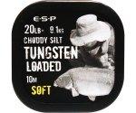 Поводковый материал Esp Tungsten Loaded 20 lb Silt Soft