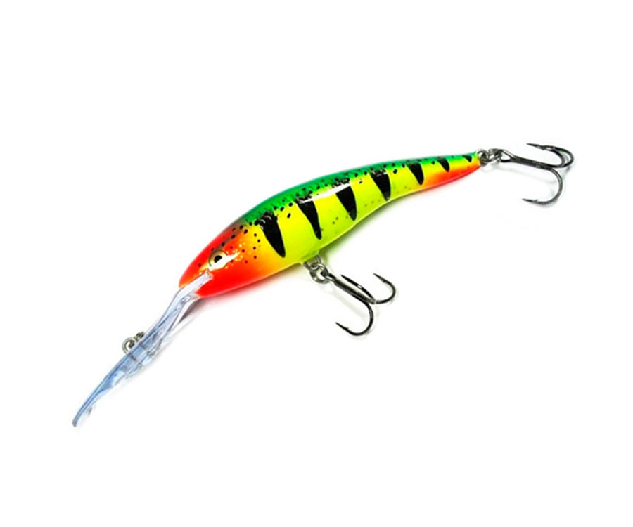 Воблер Rapala Deep Tail Dancer 130мм Yellow Red Tiger