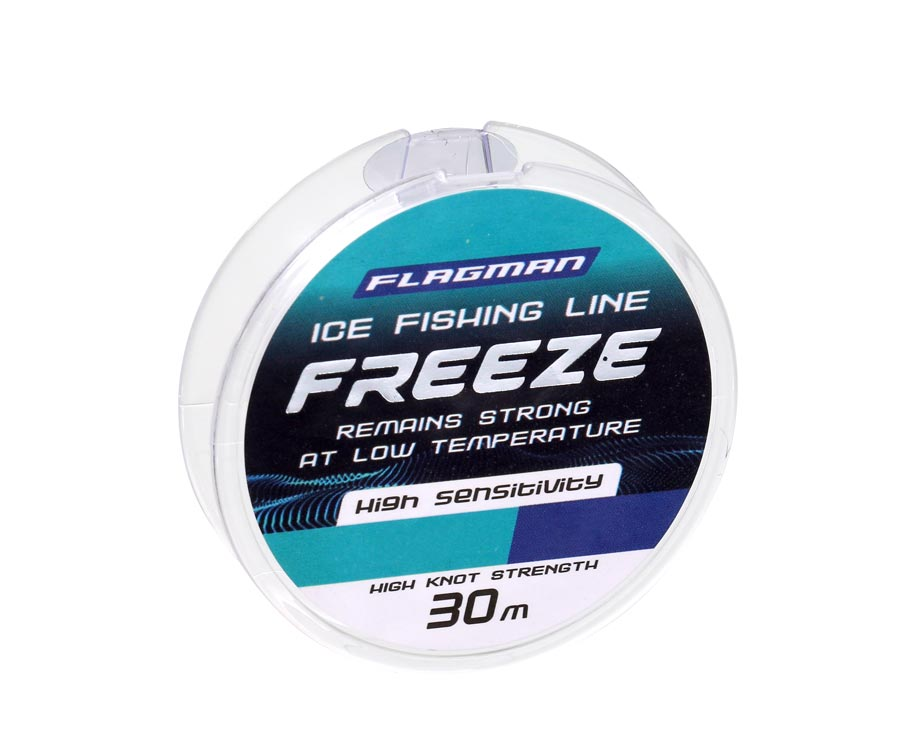 Леска Flagman Freeze Ice Fishing Line 30м 0.148мм