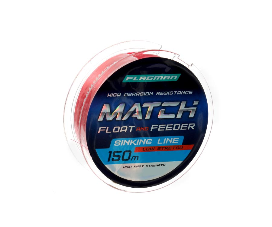 Леска Flagman Match And Feeder Sinking Line 150м 0.185мм