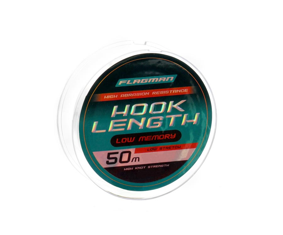 Леска Flagman Hook Lenght 50м 0.12мм