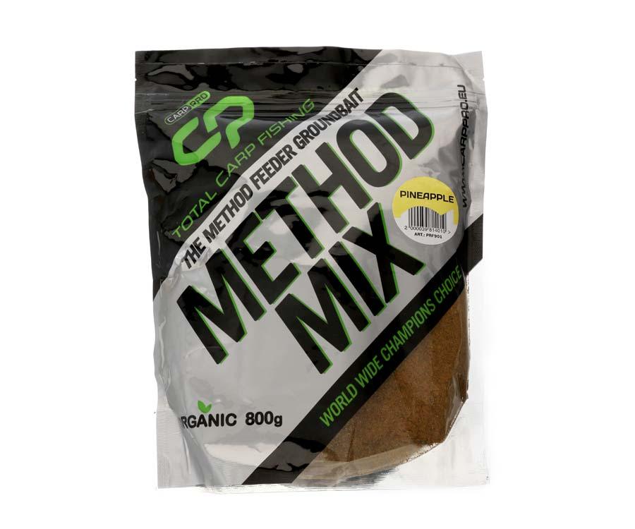 Прикормка Carp Pro Method Mix Pineapple