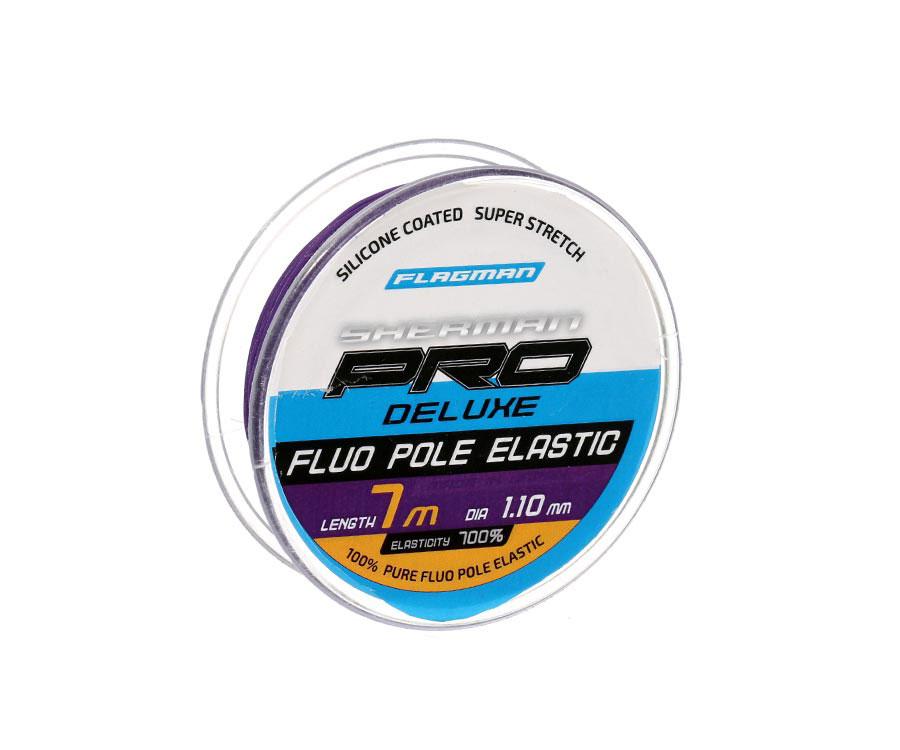 Амортизатор Flagman Deluxe Fluo Pole Elastic 7м 1.1мм