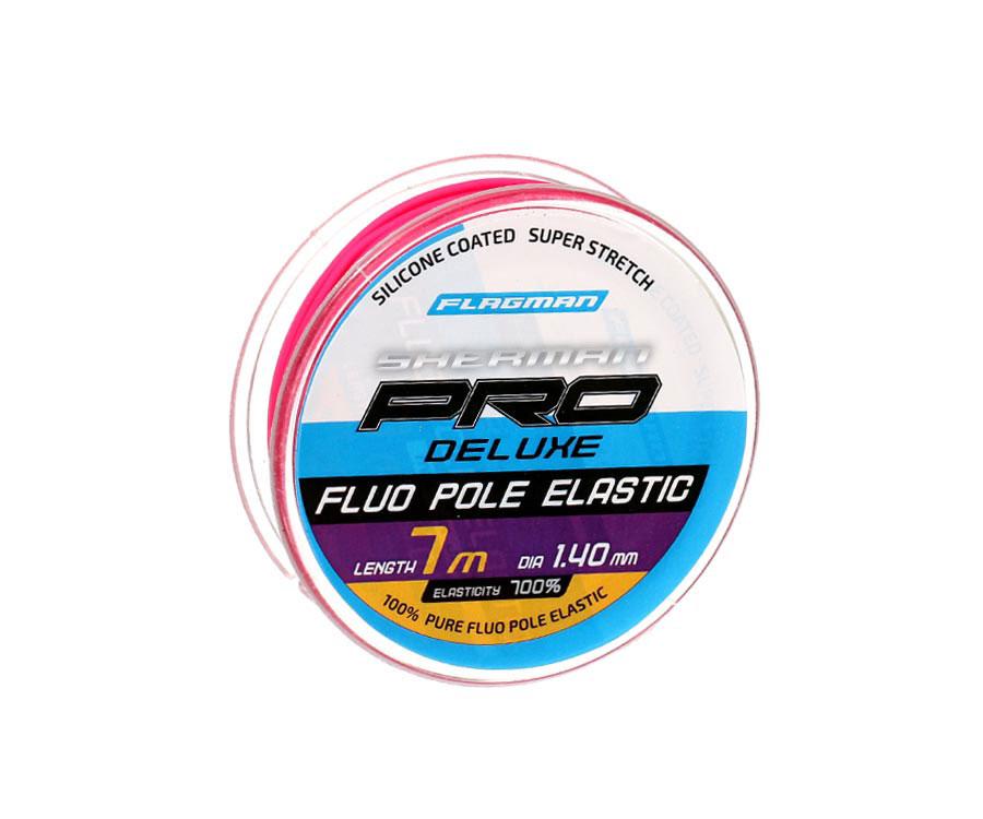 Амортизатор Flagman Deluxe Fluo Pole Elastic 7м 1.4мм
