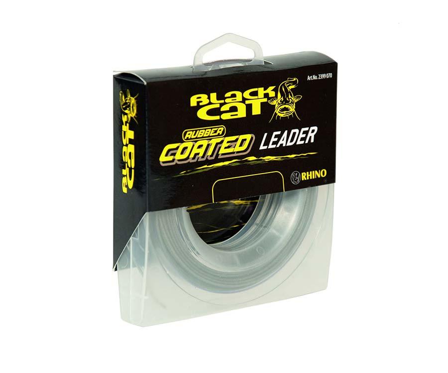 Поводковый материал Black Cat Mono Rubber Coated Leader 20м 100кг