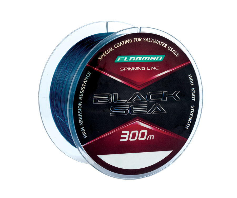 Леска Flagman Black Sea Spinning Line 300м 0.22мм