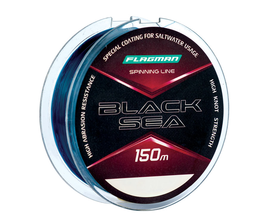Леска Flagman Black Sea Spinning Line 150м 0.30мм