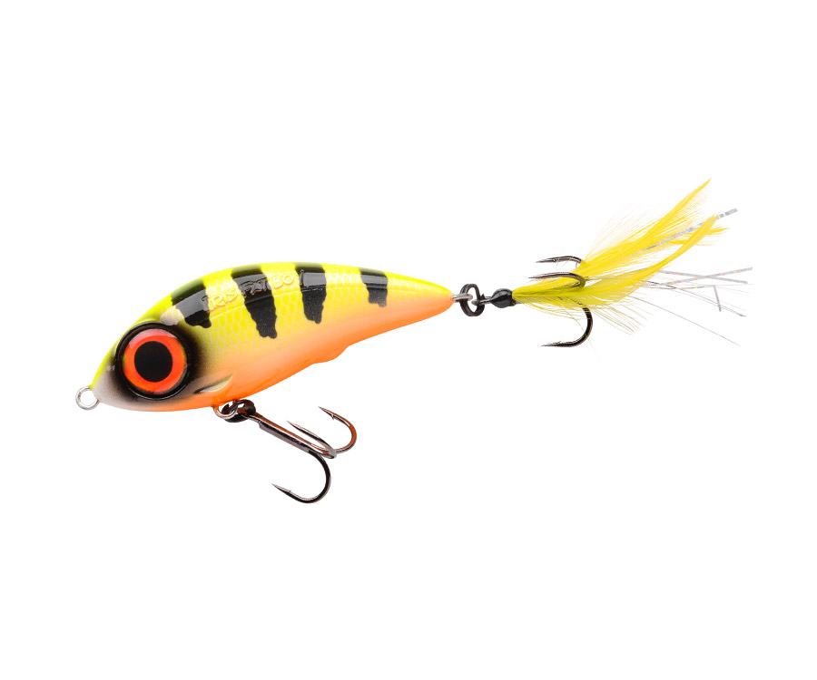 Воблер SPRO Iris Fatboy 85SP Hot Perch