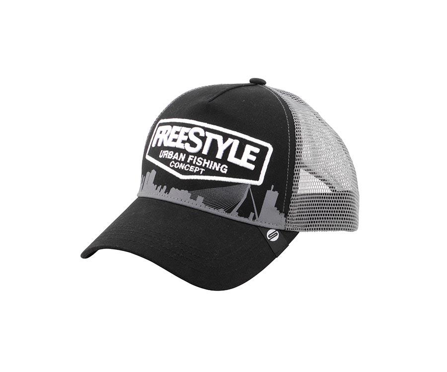 Купить Головные уборы, Кепка SPRO Freestyle Trucker Cap Bk Front