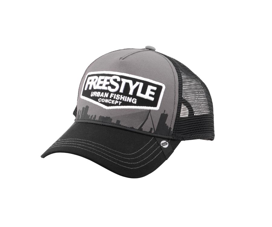Кепка SPRO Freestyle Trucker Cap Gray Front