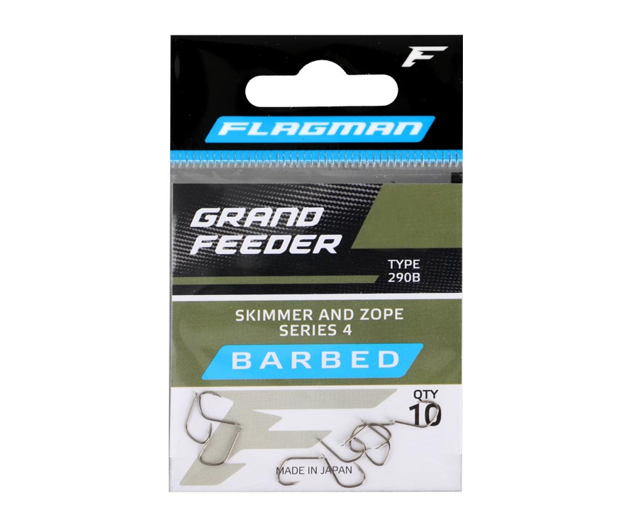 Крючки Flagman Grand Feeder Skimmer And Zope Series 4 №12