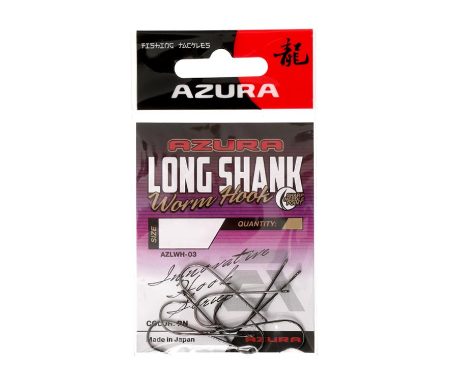 Крючки Azura Long Shank Hook №4/0