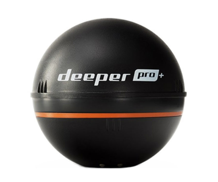 Набор эхолот Deeper Smart Sonar Pro+ WiFi + GPS + Гермомешок + Чехол для телефона