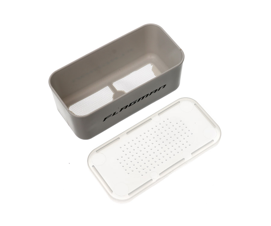 Коробка для наживки Flagman (дно сетка) 13.5x6.5x5.3см