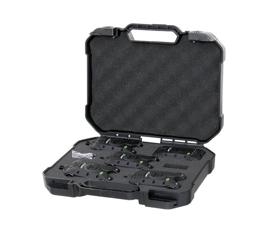 Купить Электронные сигнализаторы, Набор электронных сигнализаторов поклевки Carp Pro Rondel 4+1