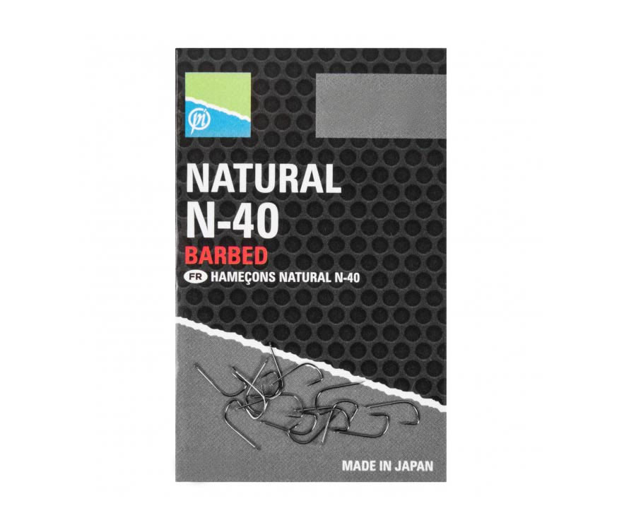 Крючки Preston Natural N-40 №18