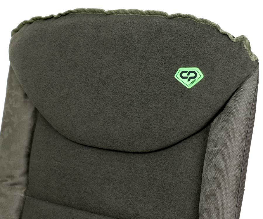 Карповое кресло Carp Pro Diamond c флисовой подушкой