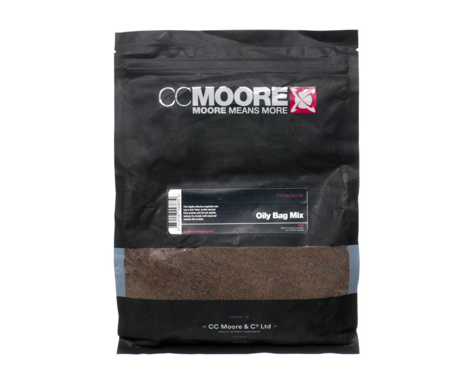 Прикормка CC Moore Мікс Oily Bag Mix 1кг