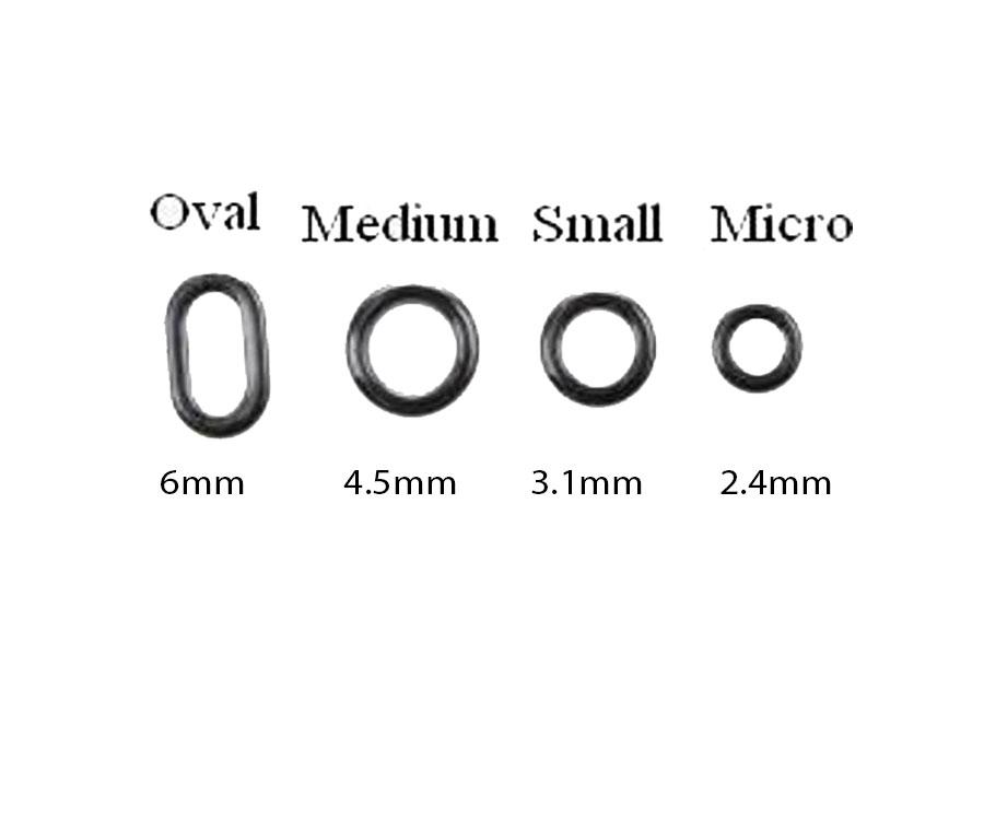 Кольца стальные для оснасток Korda Rig Ring Small
