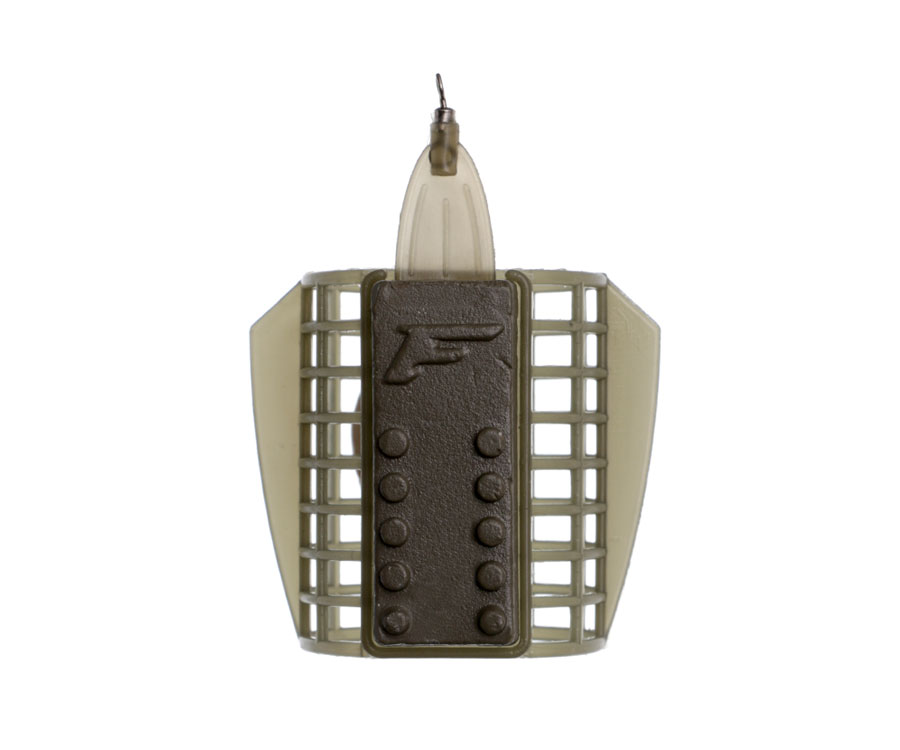Кормушка Flagman пластиковая сетка со стабилизатором Large 60г