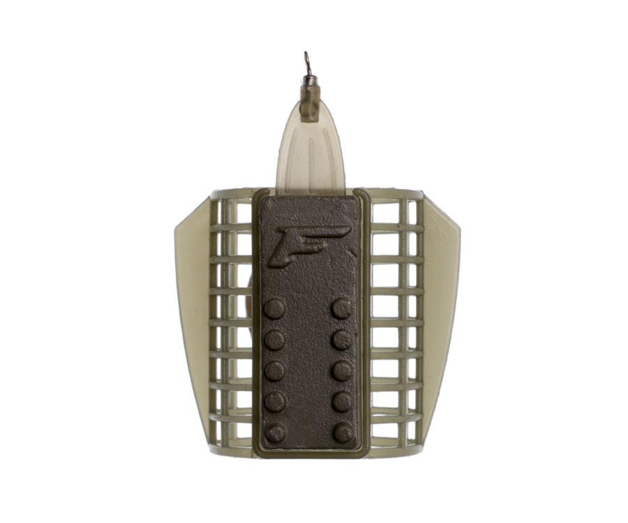 Кормушка Flagman пластиковая сетка со стабилизатором Large 100г