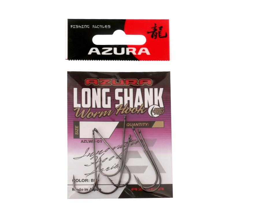 Крючки Azura Long Shank Hook №1