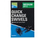 Вертлюг Preston Quick Change Swivels Medium