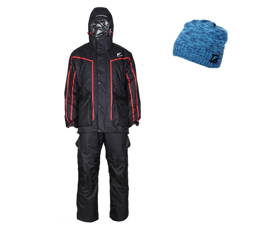 Комплект Костюм зимний мембранный Flagman Hot Hide Winter Suit 2.0 XL Шапка в подарок