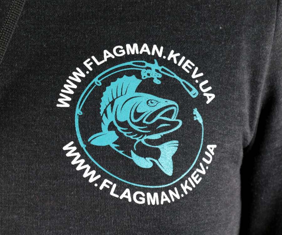 Худи Flagman Антрацит XXL