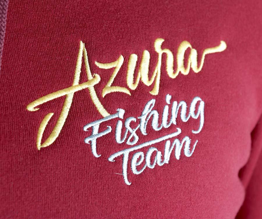 Толстовка мужская Azura бордовый XL