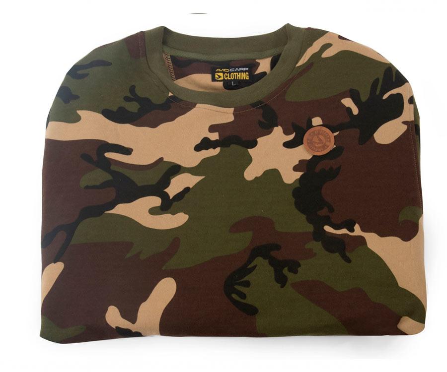 avid carp Реглан Avid Carp Sweatshirt Camouflage XXL