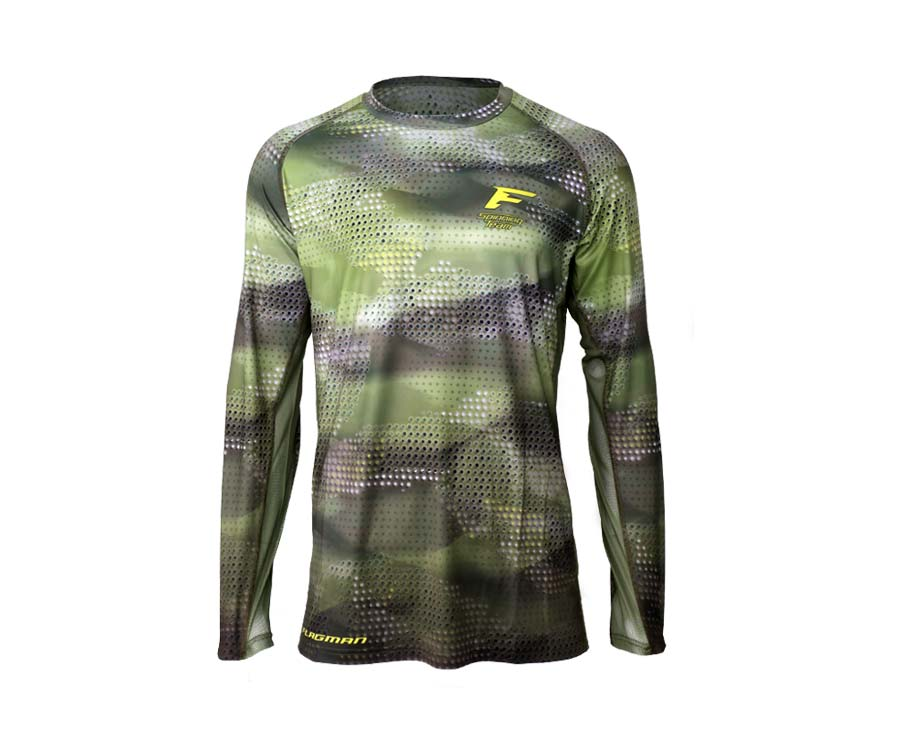 Джерси Flagman Jersey F1 Green Camo 5XL