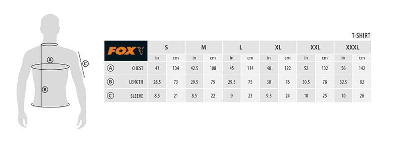 Футболка FOX Black/Orange L
