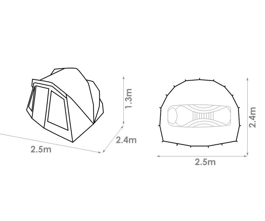 Палатка карповая Chub Tri-Brid Shelter