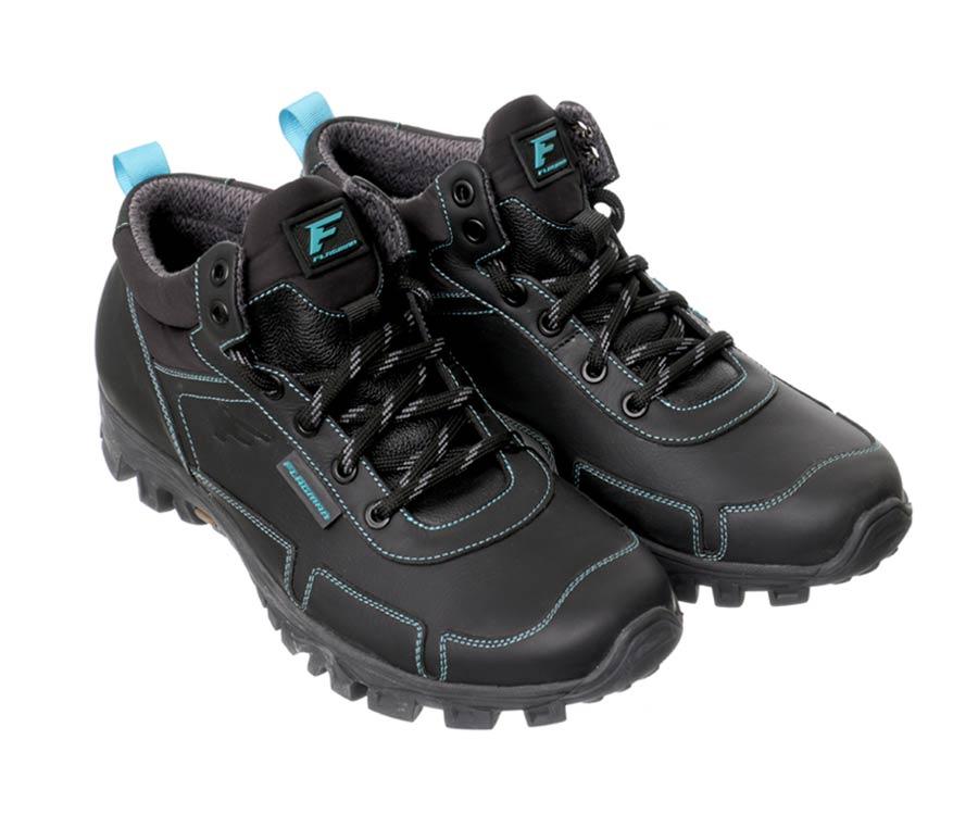 Купить Обувь, Ботинки трекинговые Flagman черные 43