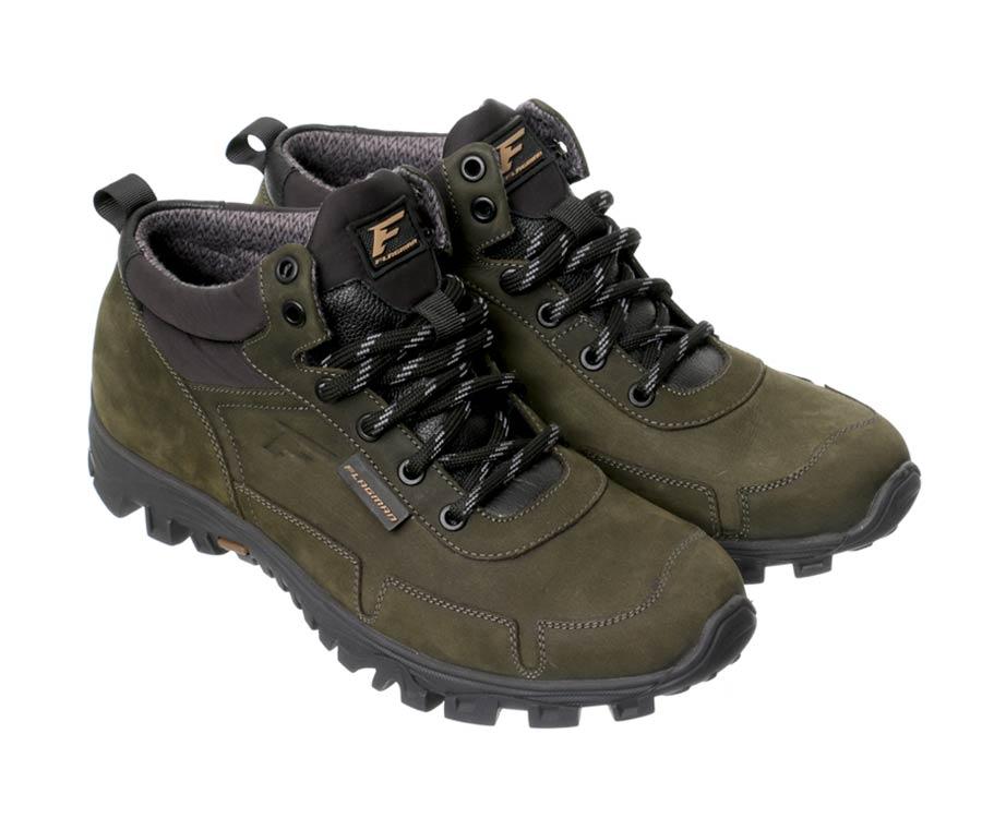 Купить Обувь, Ботинки трекинговые Flagman Хаки 43