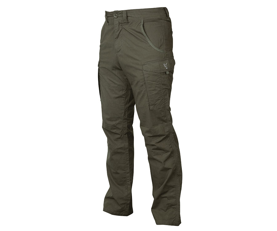 Штаны FOX Collection Combats Trousers Green/Silver L