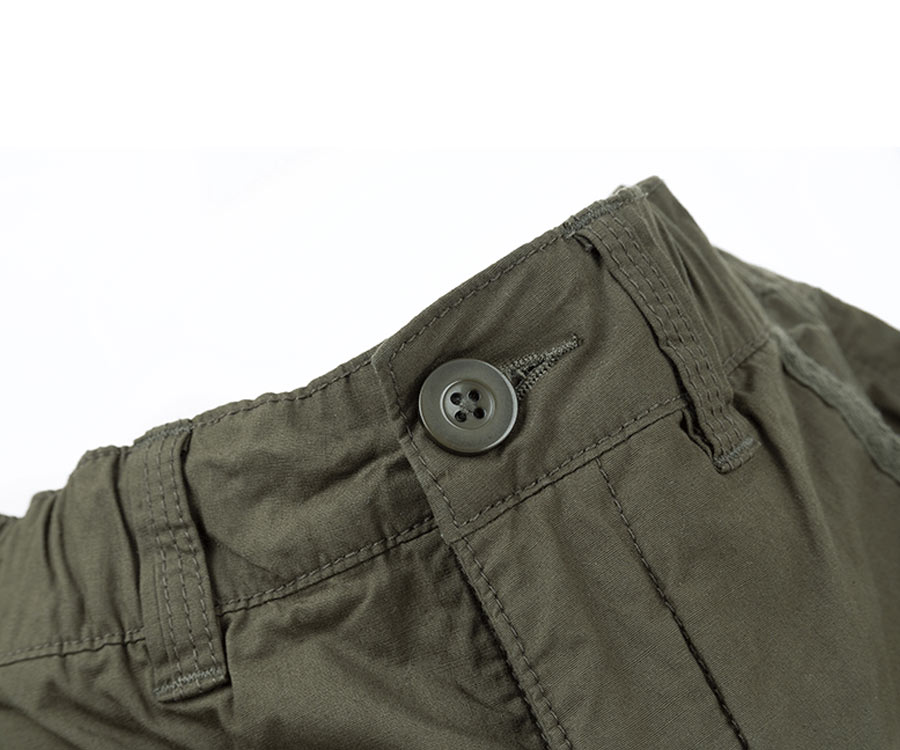 Штаны FOX Collection Combats Trousers Green/Silver XXXL