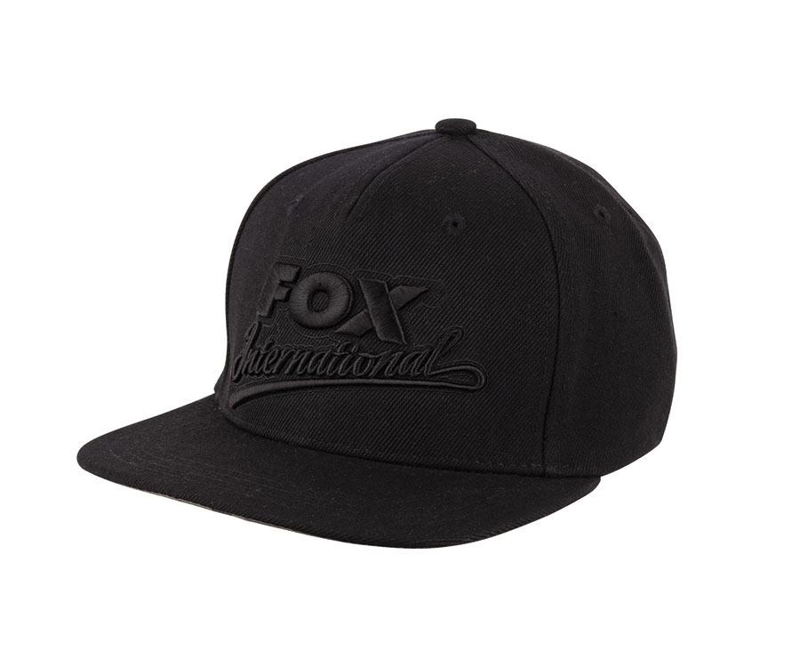 Купить Головные уборы, Кепка FOX Black Snap Back Special