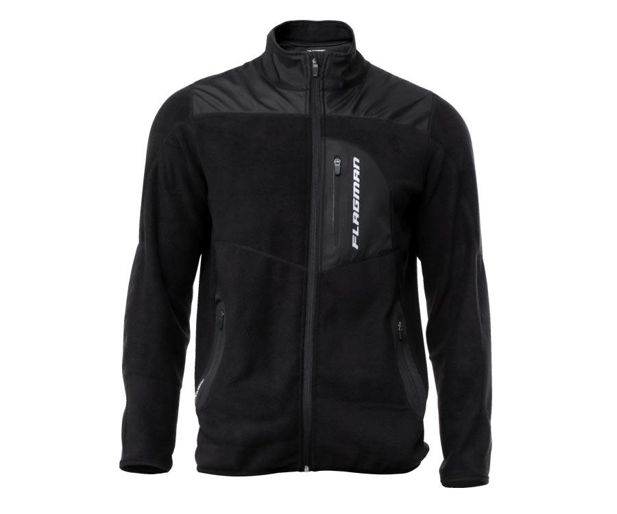 Куртки, Куртка мужская флисовая Flagman Heat Keeper 2.0 с карманом L  - купить со скидкой