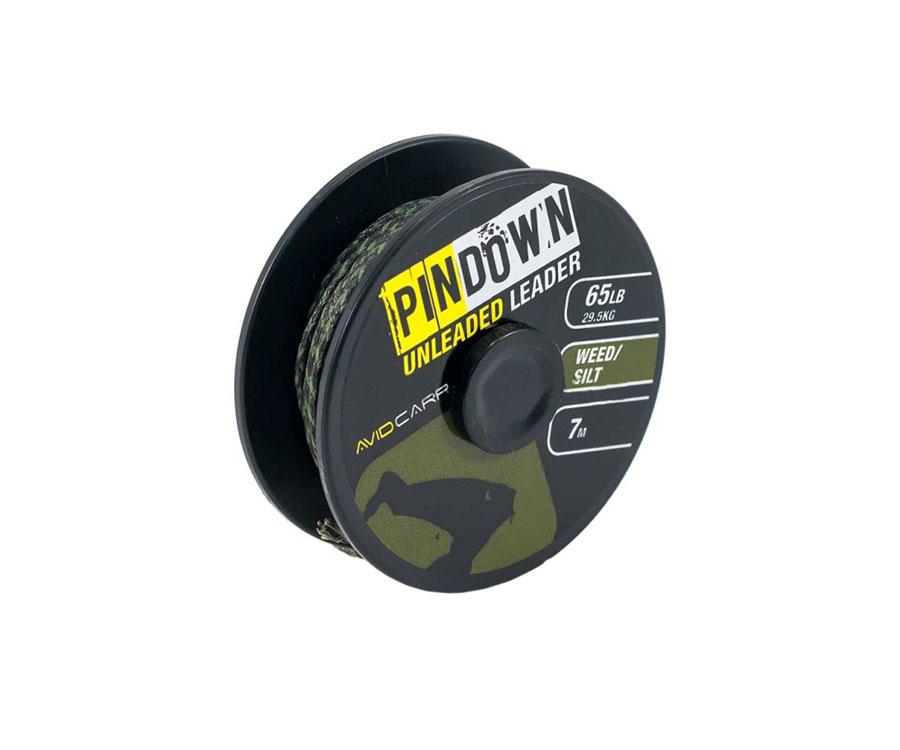 avid carp Ледкор Avid Carp Pin Down Unleaded Leader Weed/Silt 65lb
