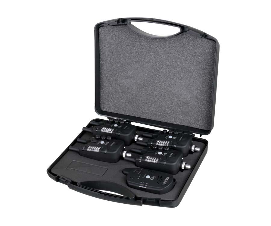 Набор электронных сигнализаторов поклевки Carp Pro Q5 4+1