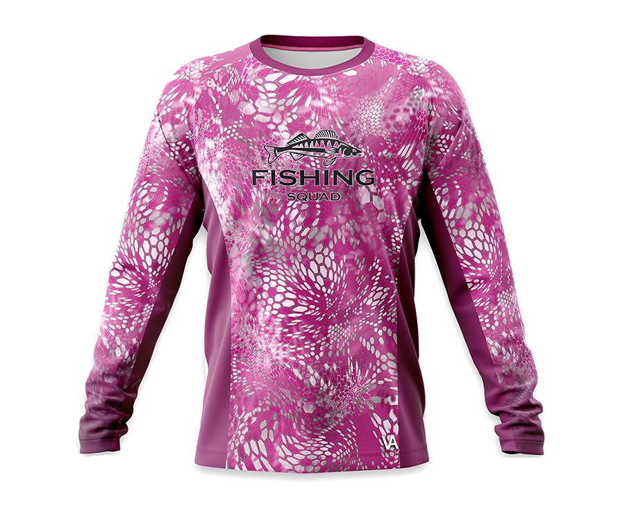 Футболки, Дышащая джерси женская Veduta Reptile Skin Fluo Pink XS  - купить со скидкой