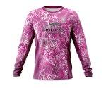 Дышащая джерси женская Veduta Reptile Skin Fluo Pink XS