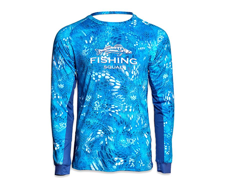 Купить Футболки, Дышащая джерси мужская Veduta Reptile Skin Blue Water XS