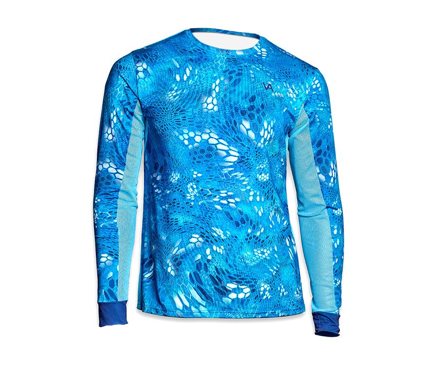 Купить Футболки, Джерси мужская Veduta Air Series Reptile Skin Blue Water XS