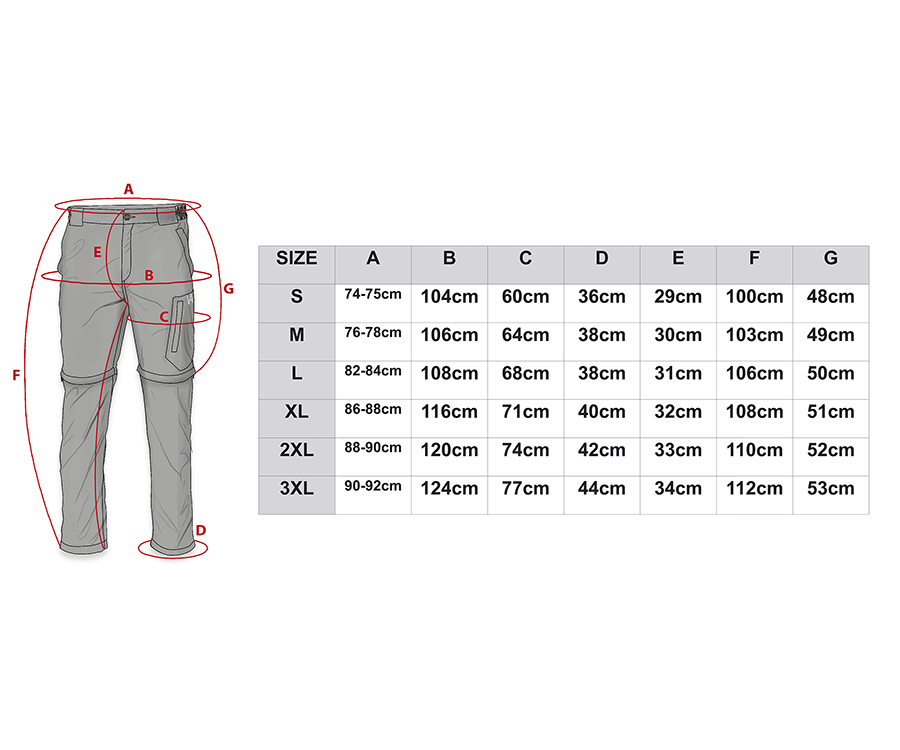 Брюки трансформеры мужские Veduta Zip-Off Ultralight Pants WHEAT S