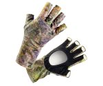 Солнцезащитные перчатки Veduta UV Gloves Reptile Skin Forest Camo S
