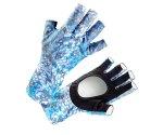 Солнцезащитные перчатки Veduta UV Gloves Reptile Skin Blue M